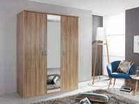 Benton 3 Door 1 Mirror Wardrobe