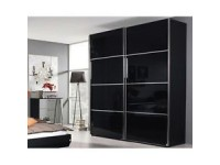 Celine Slider 225 cms Black/Crystal Mirror