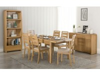 Curva Extn table and 6 chairs