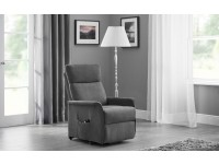 Helsby Riser Recliner chair in Charcoal