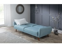 Monarch 2 seater sofabed in Blue