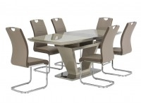 Aspire extending table and 6 chairs